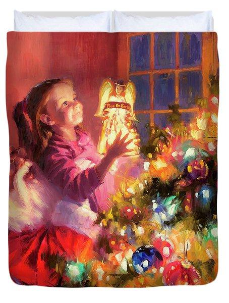 Little Angel Bright Duvet Cover