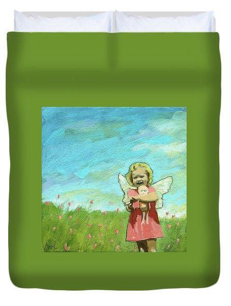 Little Angel Duvet Cover