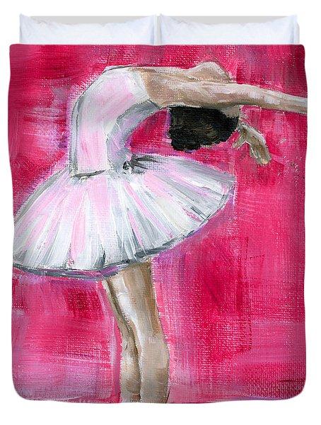 Little Ballerina #2 Duvet Cover