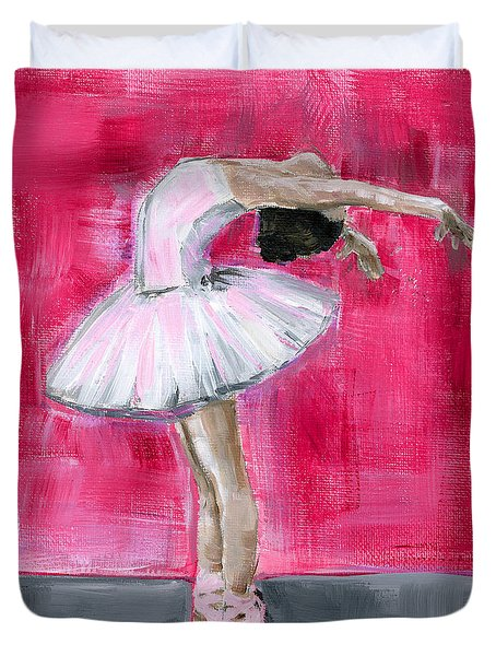 Little Ballerina #2 Duvet Cover