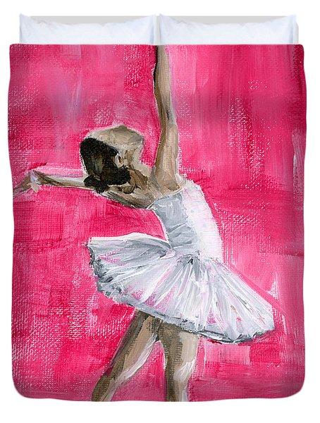 Little Ballerina Duvet Cover