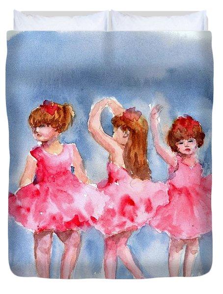 Little Ballerinas Duvet Cover