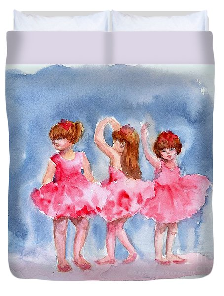 Little Ballerinas Duvet Cover