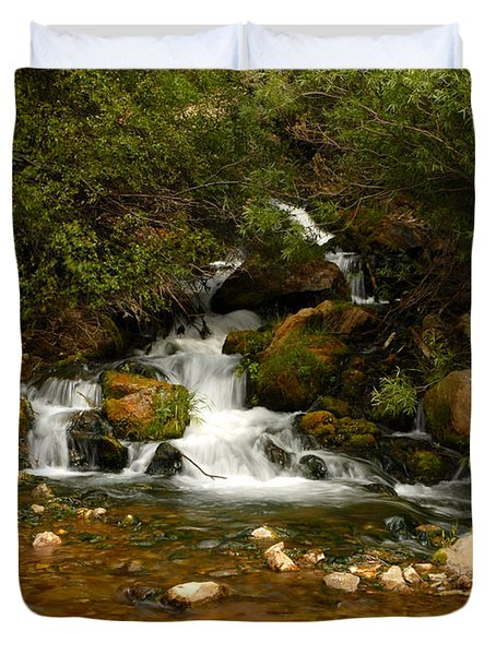 Little Big Creek Duvet Cover