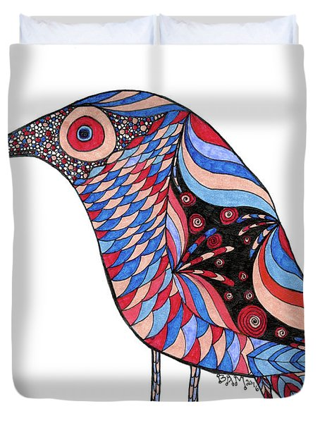 Little Bird Duvet Cover