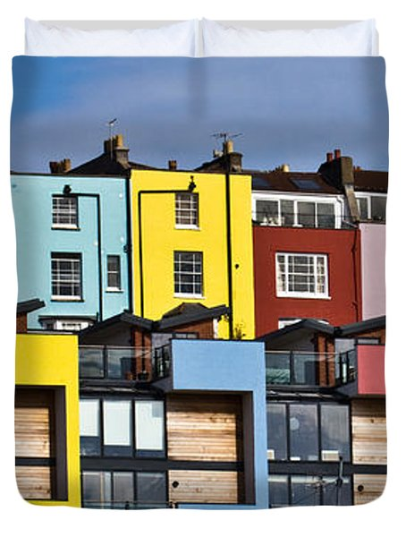 Little Boxes Duvet Cover