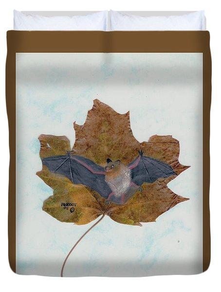 Little Brown Bat Duvet Cover