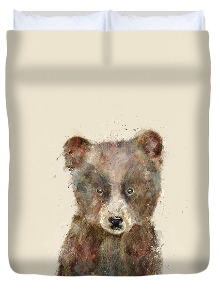 Little Brown Bear Duvet Cover