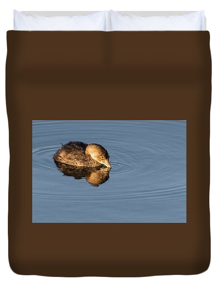 Little Brown Duck Duvet Cover