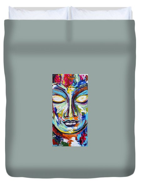 Little Buddha Duvet Cover