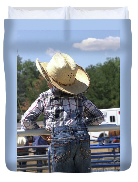 Little Cowboy Duvet Cover