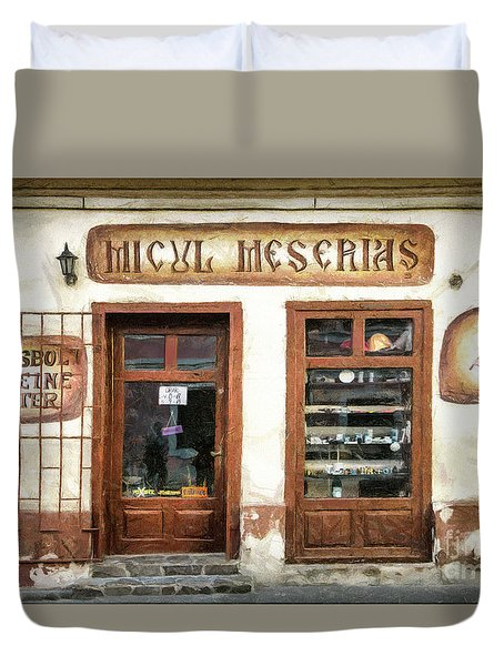 Little Craftsman' Shop - Micul Meserias Duvet Cover