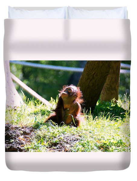 Duvet Cover featuring the photograph Little Cutie II by Lisa L Silva