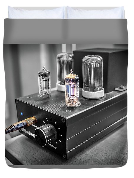 Little Dot II Headphone Tube Amplifier Duvet Cover