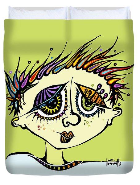 Little Einstein Duvet Cover by Tanielle Childers
