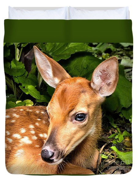 Little Fawn Duvet Cover