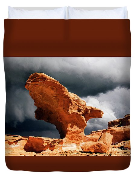 Little Finland Nevada 8 Duvet Cover by Bob Christopher