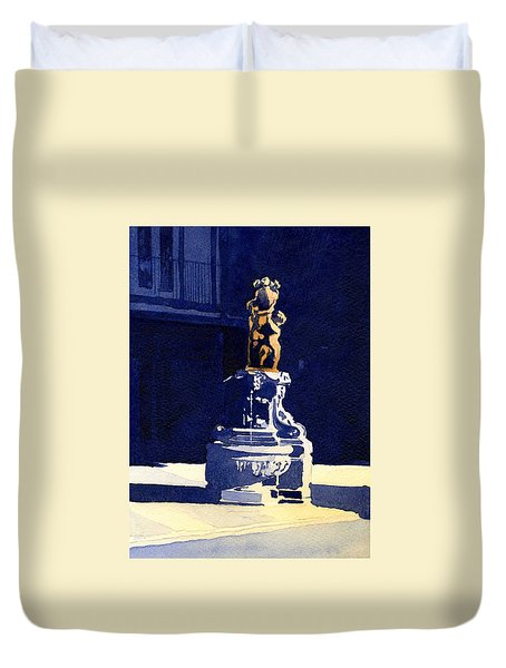 Little Fountain Duvet Cover