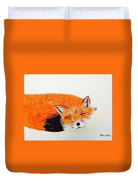 Little Fox Duvet Cover