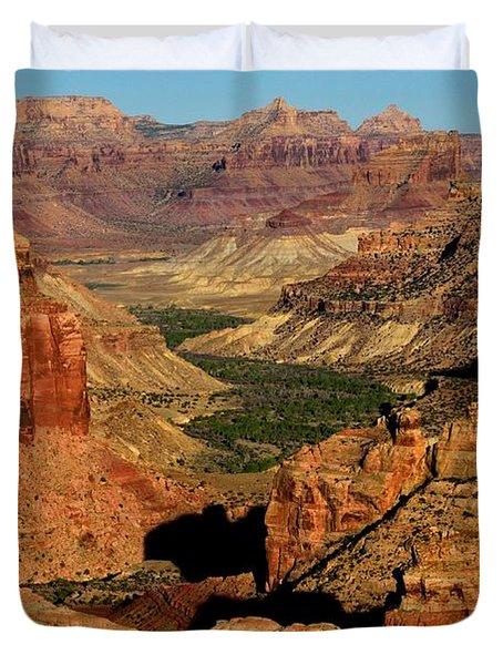 Little Grand Canyon Sunrise Duvet Cover