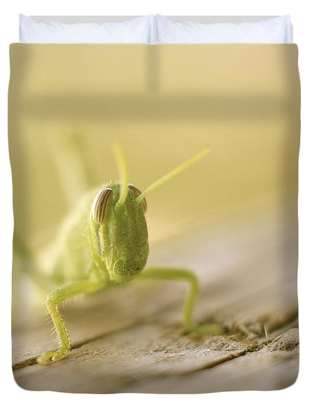 Little Grasshopper Duvet Cover