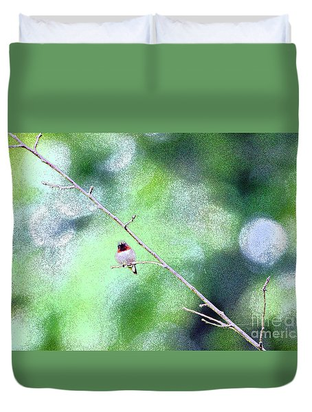 Little Hummer Duvet Cover