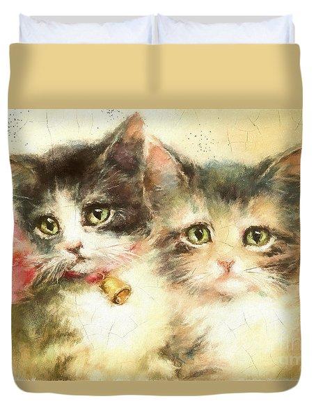 Little Kittens Duvet Cover