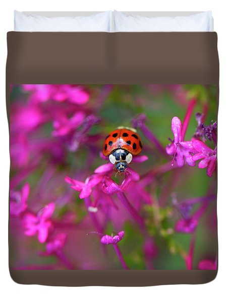 Little Lady Duvet Cover