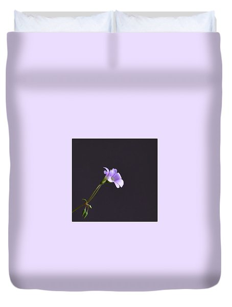 Little Lavender Flowers Duvet Cover