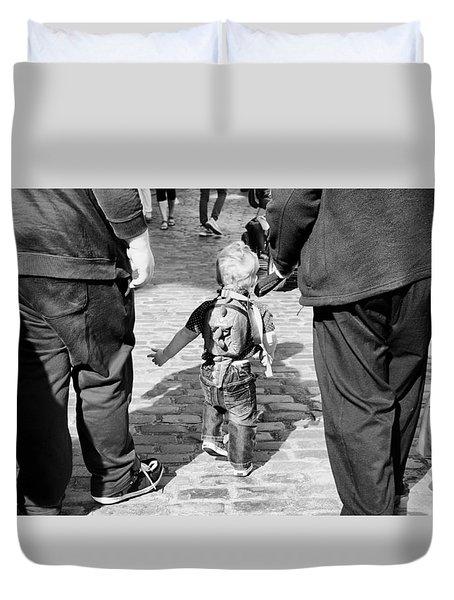 Little Man Duvet Cover