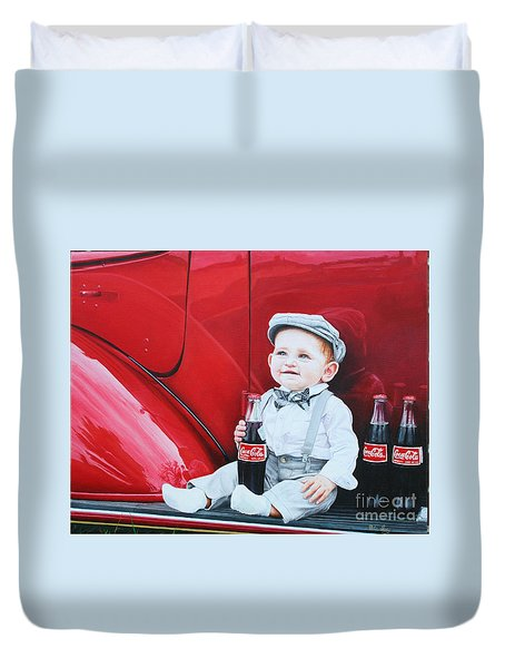 Little Mason Duvet Cover