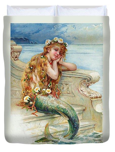 Little Mermaid Duvet Cover by E S Hardy