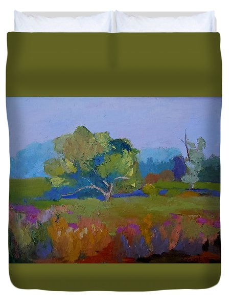 Little Miami Meadow Duvet Cover by Francine Frank