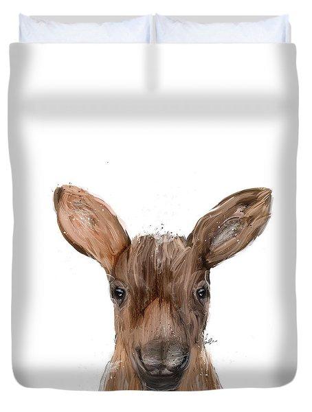 Little Moose Duvet Cover