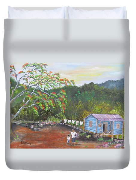 Little Paradise Duvet Cover