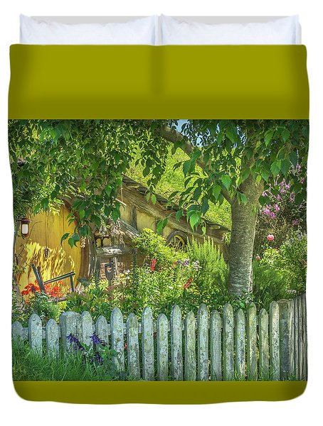 Little Picket Fence Duvet Cover