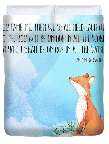 The Little Prince Uploaded By Vytaa On We Heart It: Little Prince Fox Quote, Text Art Painting By Tina Lavoie