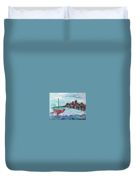 Coast Duvet Cover by Roxy Rich