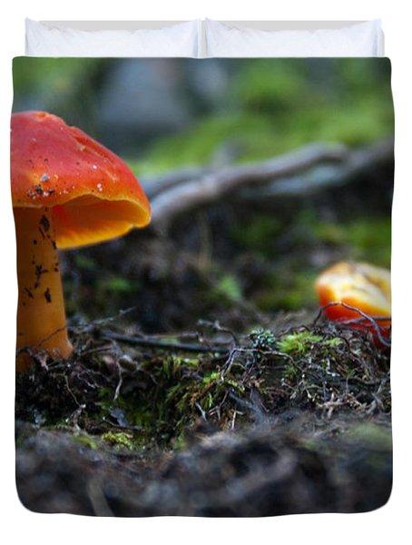 Little Red Cap Duvet Cover