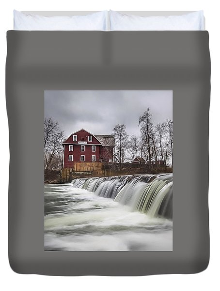 Little Red Mill Duvet Cover