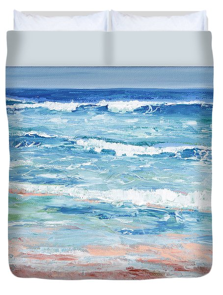 Little Riptides Duvet Cover