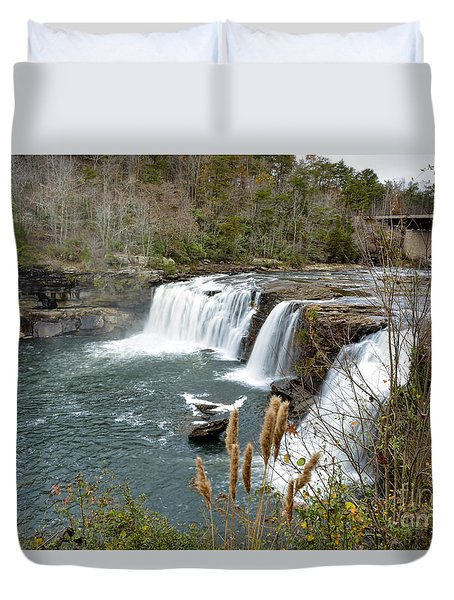 Little River Falls Duvet Cover