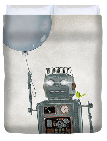 Little Robot Duvet Cover