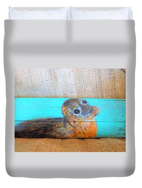 Little Seal Duvet Cover