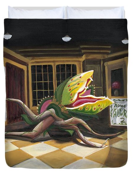 Little Shop Of Horrors Duvet Cover