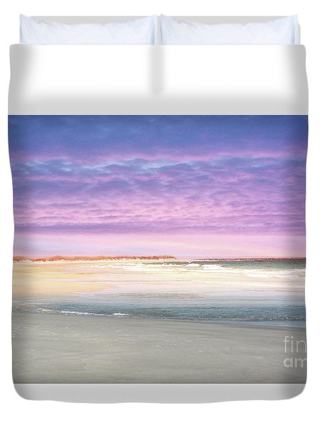 Duvet Cover featuring the photograph Little Slice Of Heaven by Kathy Baccari