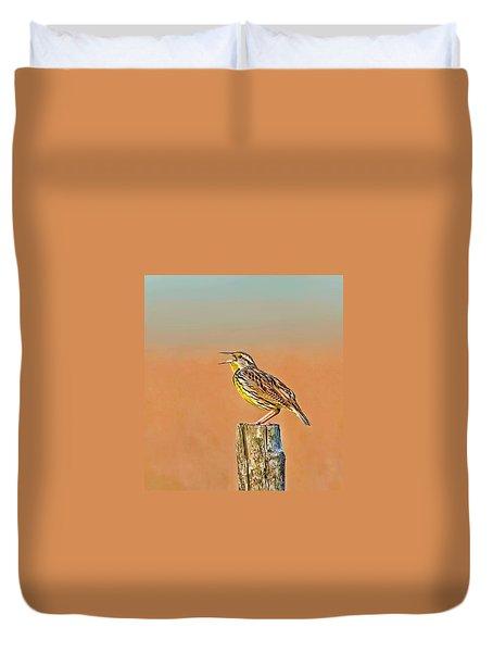 Little Songbird Duvet Cover