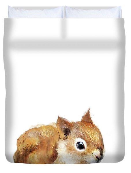 Little Squirrel Duvet Cover