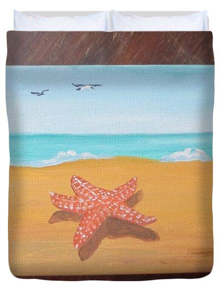 Little Star Fish Duvet Cover