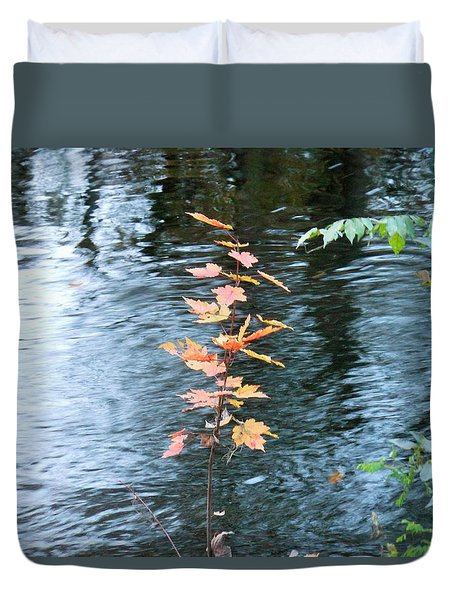 Little Tree Duvet Cover by Kay Gilley
